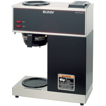Bunn VPR Pour-over Coffee Brewer with 2 Warmers