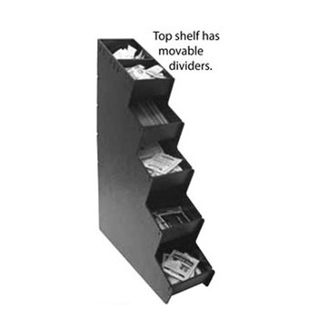 HHD 5 Section Vertical Condiment Organizer