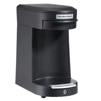 Hamilton Beach Commercial Black Single Cup Pod Brewer