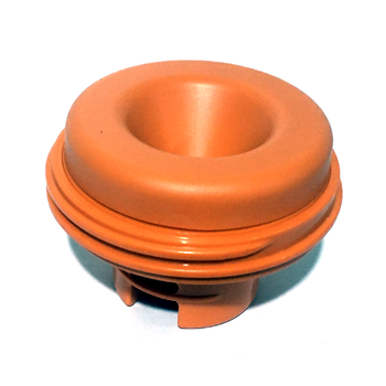 Bunn Deluxe Thermal Carafe Orange Decaf Lid Assembly