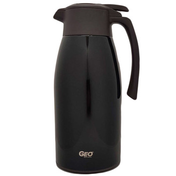HHD 2.0 Liter Black Stainless Steel Carafe