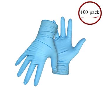 Large Disposable Nitrile Gloves, Powder Free, Latex Free, DEHP Free