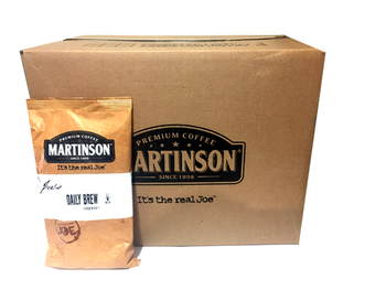 FAA Approved Martinson Daily Joe Decaf Filter Pack Coffee 1.5 oz 96/CT