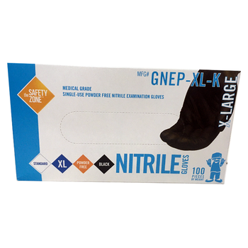 XL Disposable Medical Grade Nitrile Gloves, Powder Free, Latex Free, DEHP Free