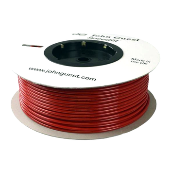 "John Guest 1/4"" 100 Foot Polyethylene Tubing Red"