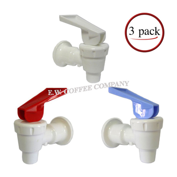 Sunbeam Water Cooler Faucet Assembly 3 Pk , 1008779, 1008780, 1008781