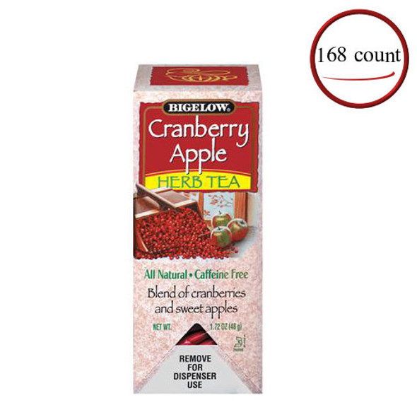 Bigelow Cranberry Apple Herbal Tea 168 Bags