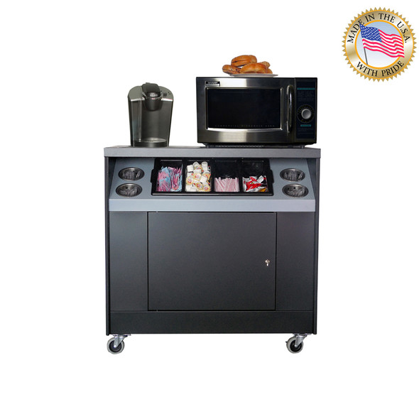 All State OCC36-ET Office Coffee Stand + Electric Outlets