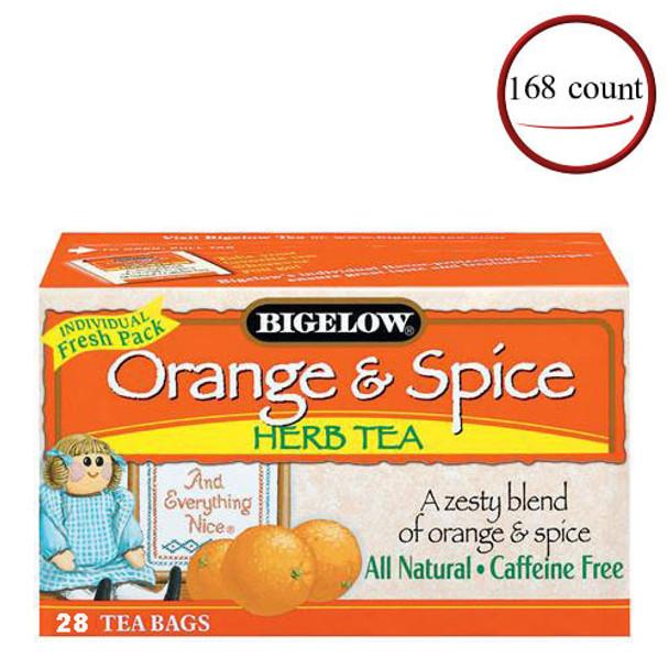 Bigelow Orange And Spice Herbal Tea 168 Bags
