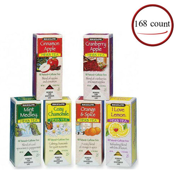 Bigelow Herbal Tea Assortment 168 Bags