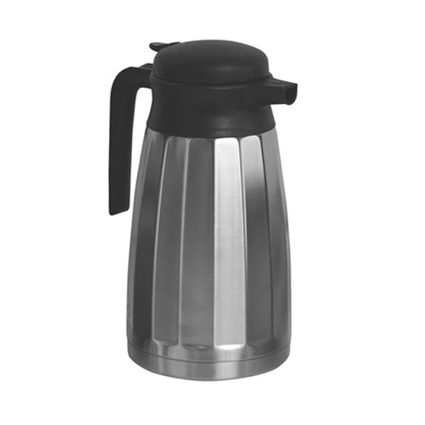 Newco Vaculator 1.6 Liter Faceted Stainless Steel Carafe