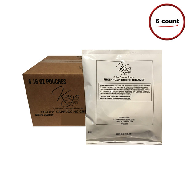 Kayo Frothy Cappuccino Topping Mix 6 C/T