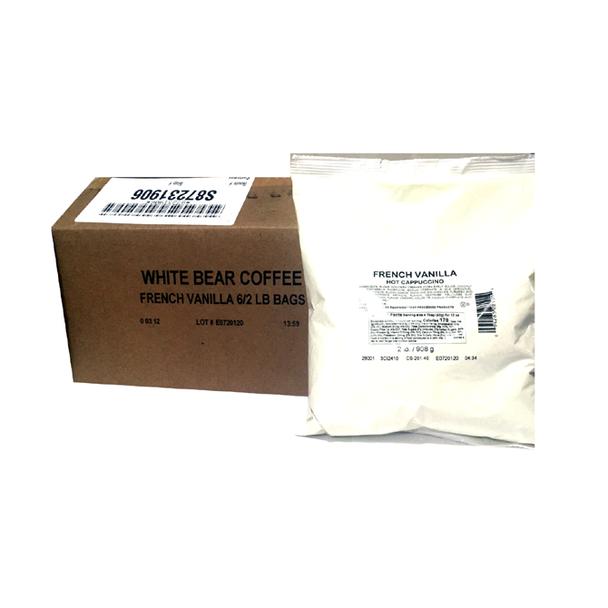 White Bear Coffee French Vanilla Cappuccino Mix