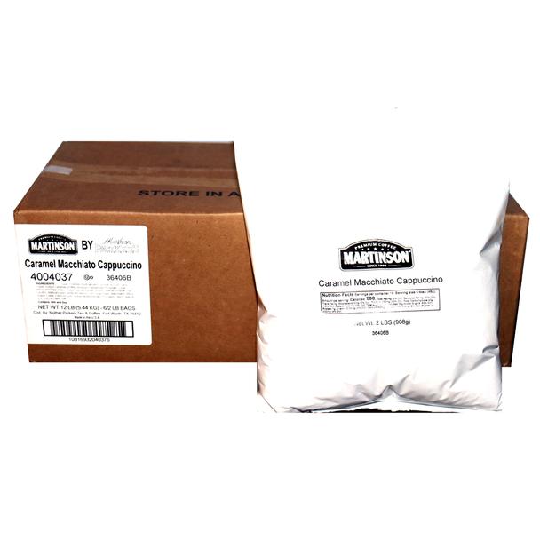 Martinson Caramel Macchiato Cappuccino Instant Cappuccino Mix 12 Lb
