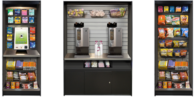 Micro Market Stands Cabinets