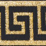 Gold Greek Key