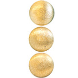 3 Gold Buttons