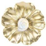 Poppy & White Seashell