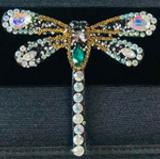 Rhinestone Dragonfly