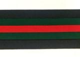 Green & Red Stripe
