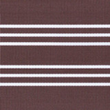 Brown/White Stripe