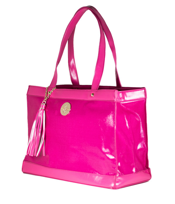 FAB Beach Tote - Hot Pink (FINAL SALE)