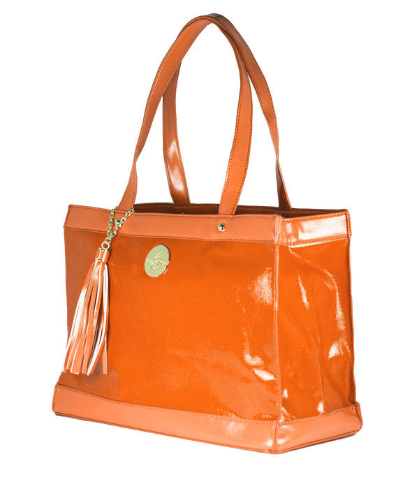 FAB Beach Tote - Orange (FINAL SALE)