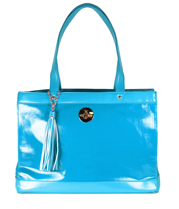 FAB Beach Tote - Aqua (FINAL SALE)