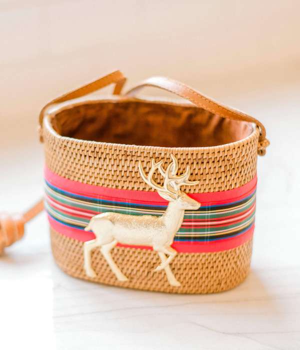 Charlotte Crossbody - Holiday Plaid Band