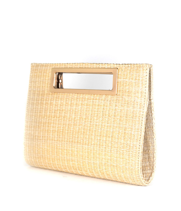 Chloe Clutch - Straw