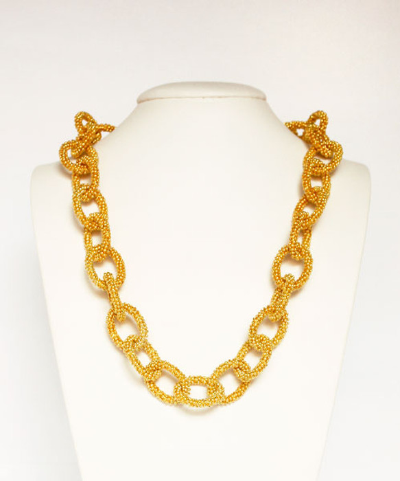 Ashley Necklace - Gold