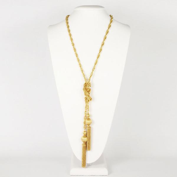 Tassel Chain - Gold