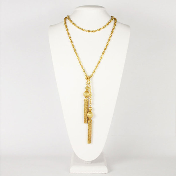 Tassel Chain - Gold