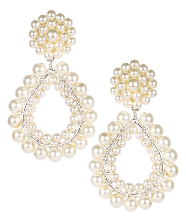 Margo - Silver & Pearl