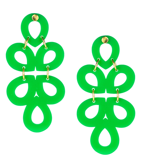 GINGER-ACRYLIC-GREEN