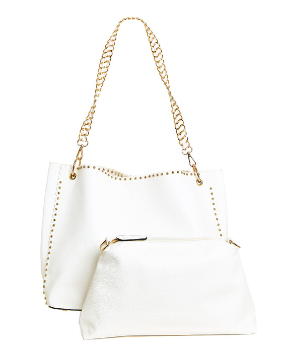 Lindsey Tote - White