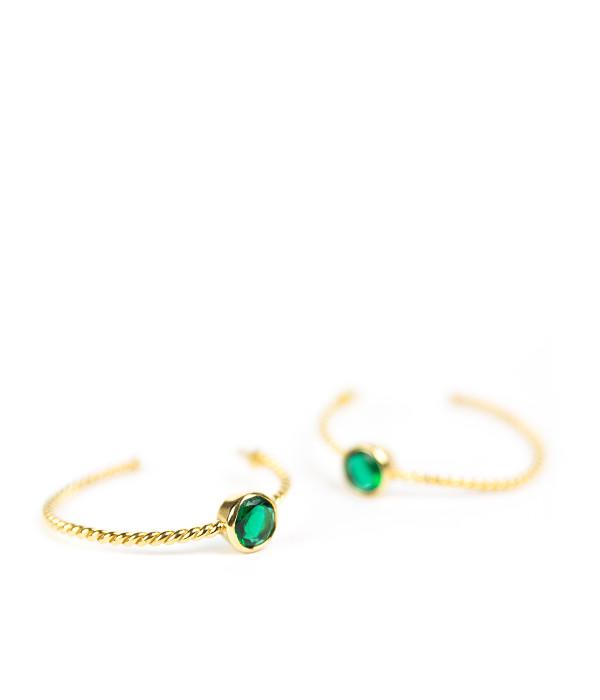 Kira Hoop - Emerald