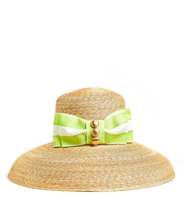 Lauren Hat - Large - Flat Bow