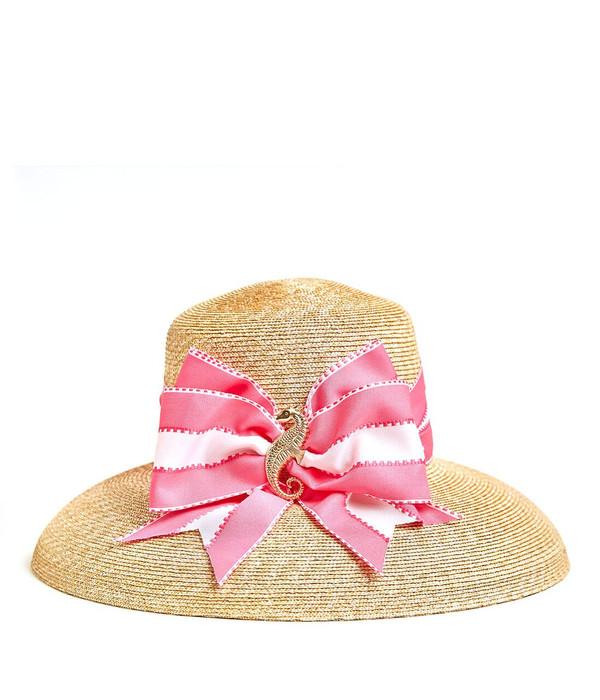 Lauren Hat - Large - Fluffy Bow