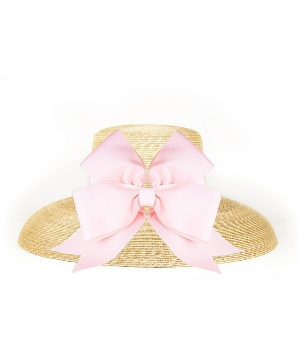 Lauren Hat - Large - Fluffy Bow