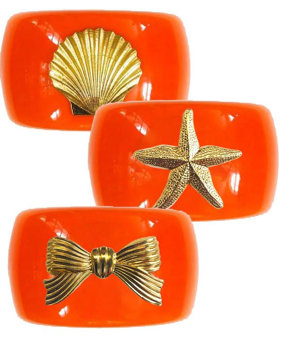 Large Cuff - Orange
