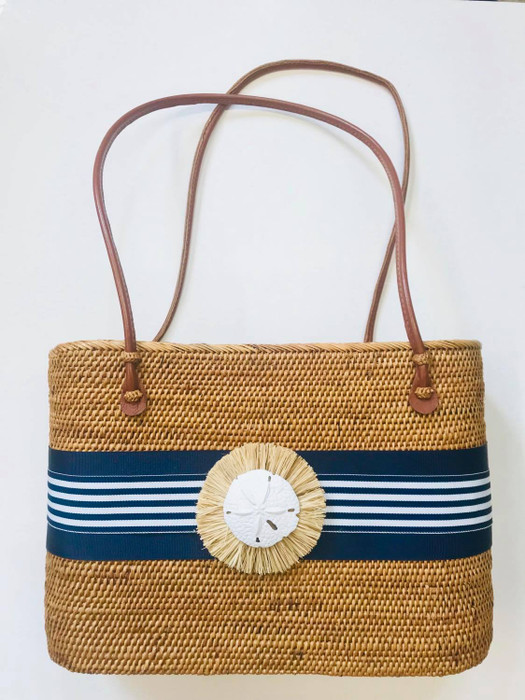 Large Charlotte - Natural Raffia Round - Limited Edition