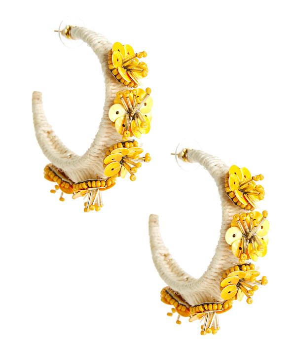 Bridget Hoop - Yellow