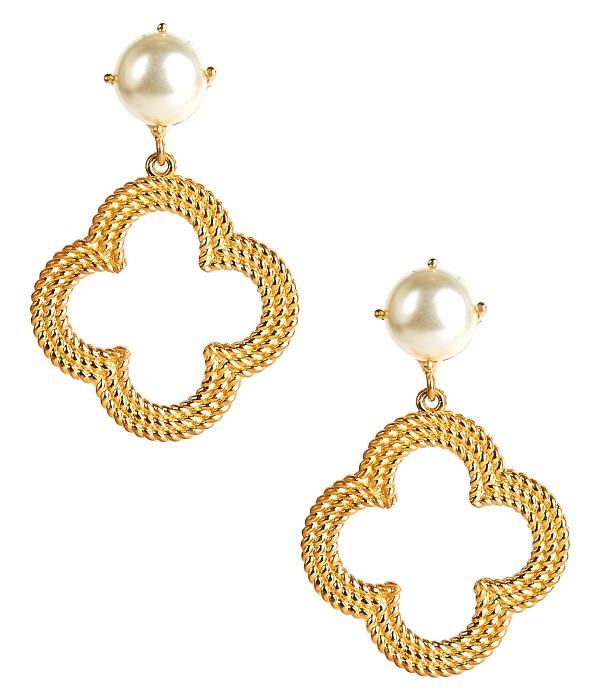 Bryn - Gold & Pearl
