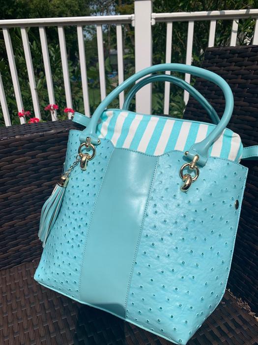 Petite Shopper- Turquoise - Sample Bag