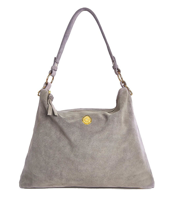 Finley Tote - Slate  with Blossom
