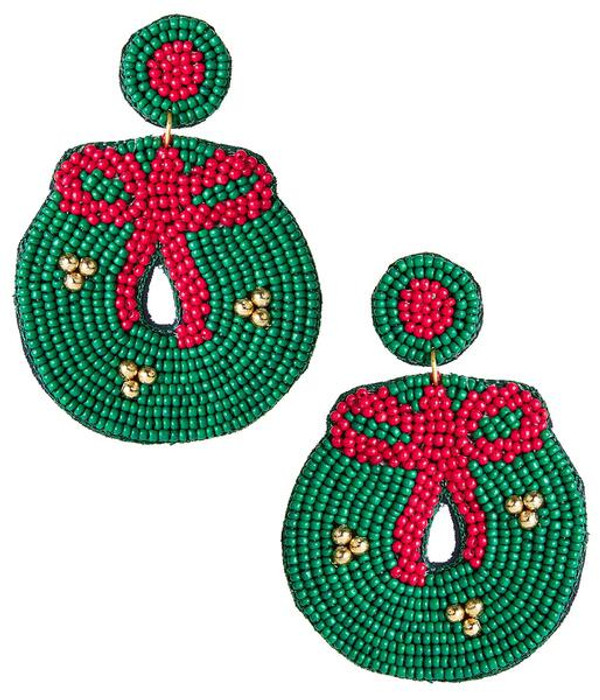 Wreath - Green & Red