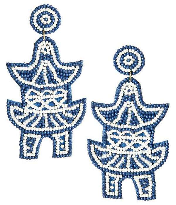 Pagoda Earrings