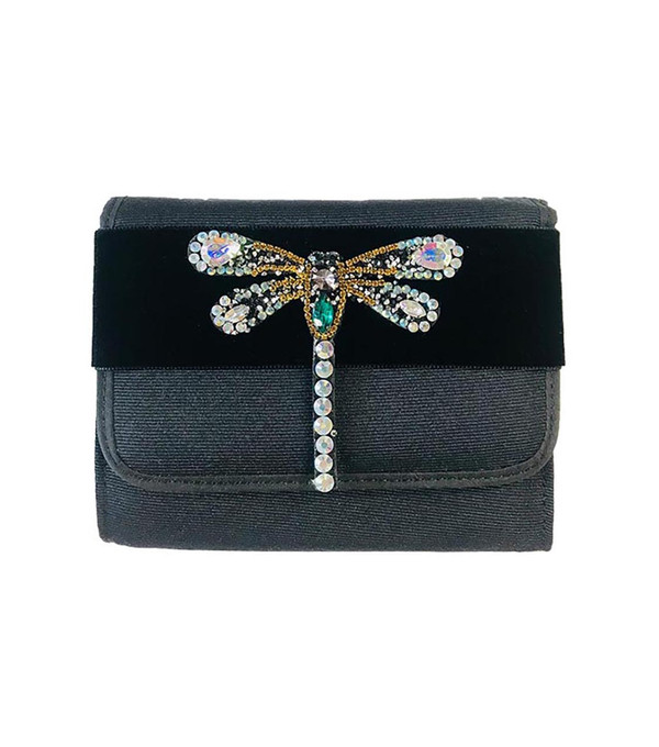 Eleanor- Rhinestone Dragonfly