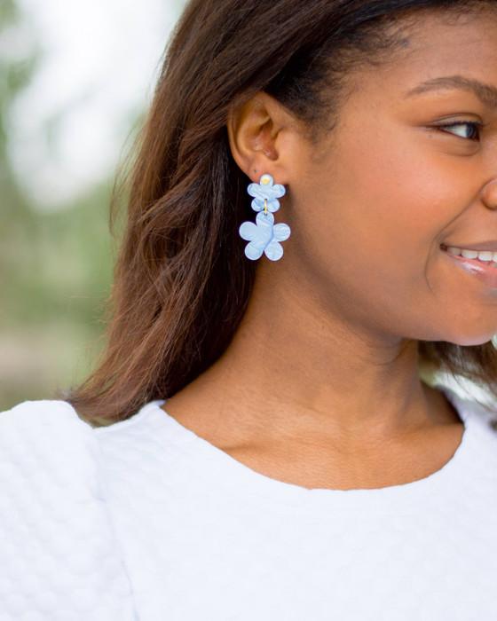 Gracie Acrylic Earrings